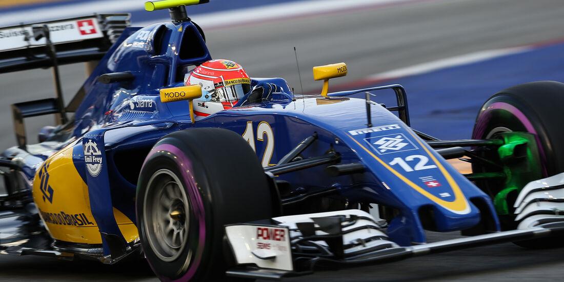 Felipe Nasr - Sauber - Formel 1 - GP Singapur - 16. September 2016