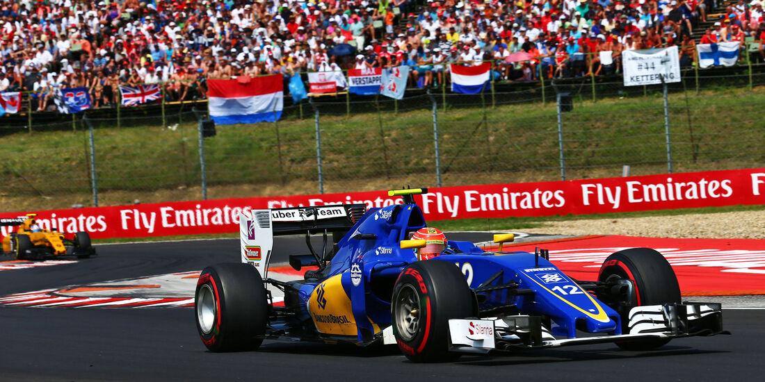 Felipe Nasr - Sauber - Formel 1 - GP Ungarn - 24. Juli 2016