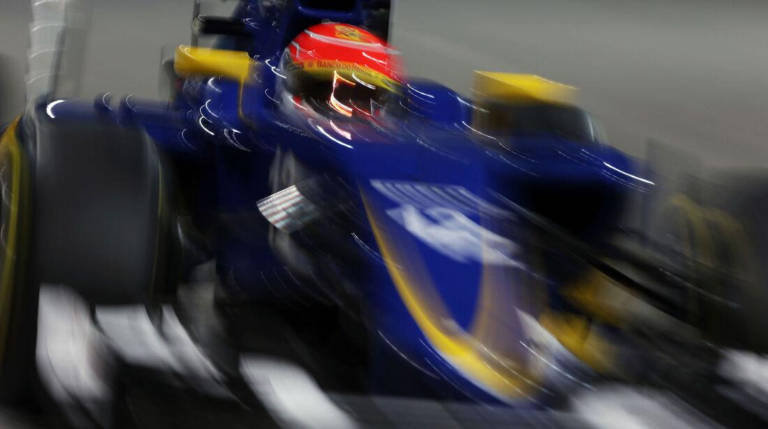 Felipe Nasr - Sauber - GP Abu Dhabi 2015