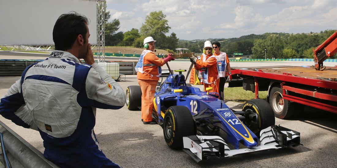 Felipe Nasr - Sauber - GP Ungarn - Budapest - Formel 1 - 22. Juli 2016