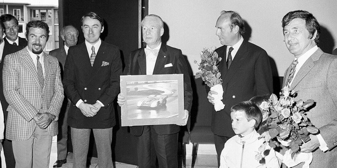 Ferdinand Alexander Porsche, Rico Steinemann, Willi Kauhsen, Gérard Larrousse, Ernst Klett, Dick Attwood, Hans Hermann