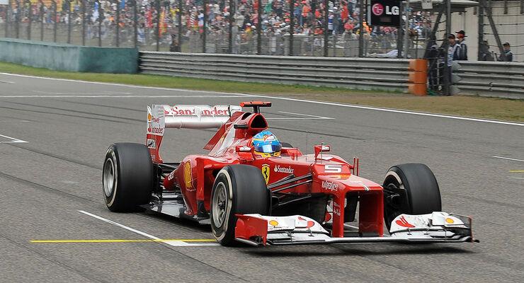 Fernando Alonso 2012 GP China