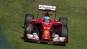 Fernando Alonso - Ferrari - Formel 1 - GP Australien - 14. März 2014