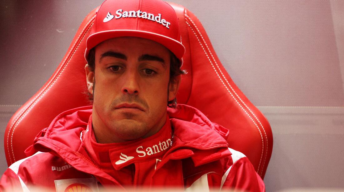 Fernando Alonso - Ferrari - Formel 1 - GP Belgien - Spa-Francorchamps - 31. August 2012