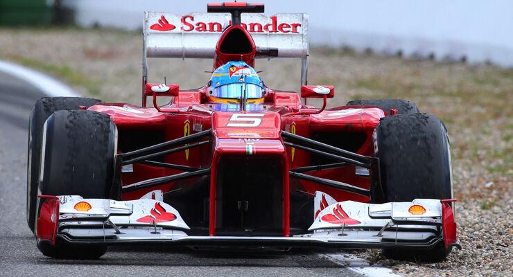 Fernando Alonso - Ferrari - Formel 1 - GP Deutschland 2012