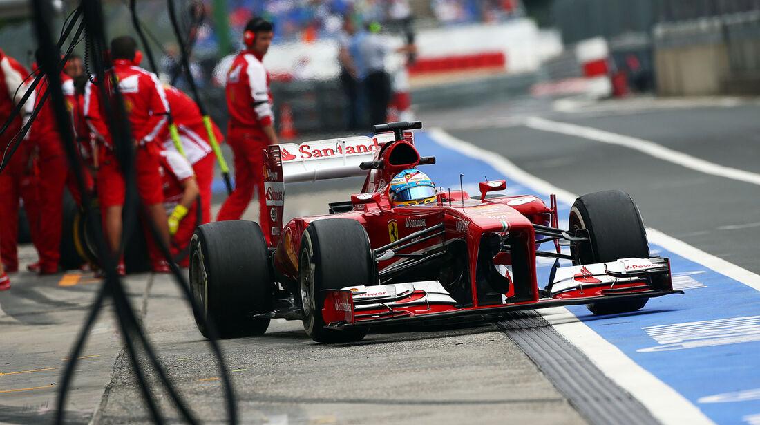 Fernando Alonso - Ferrari - Formel 1 - GP Deutschland - 5. Juli 2013