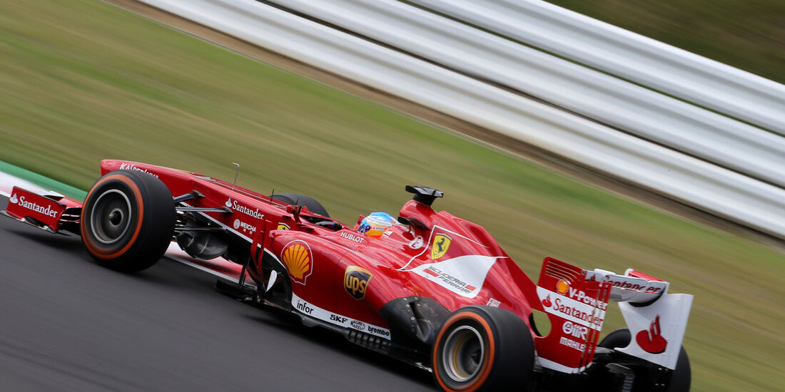 Fernando Alonso - Ferrari - Formel 1 - GP Japan 2013