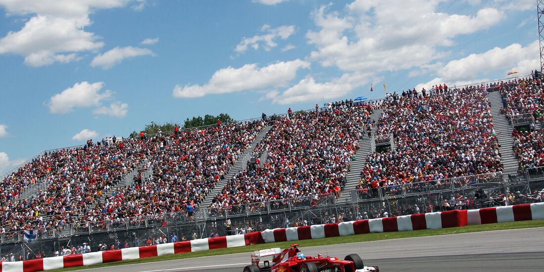 Fernando Alonso - Ferrari - Formel 1 - GP Kanada - 10. Juni 2012