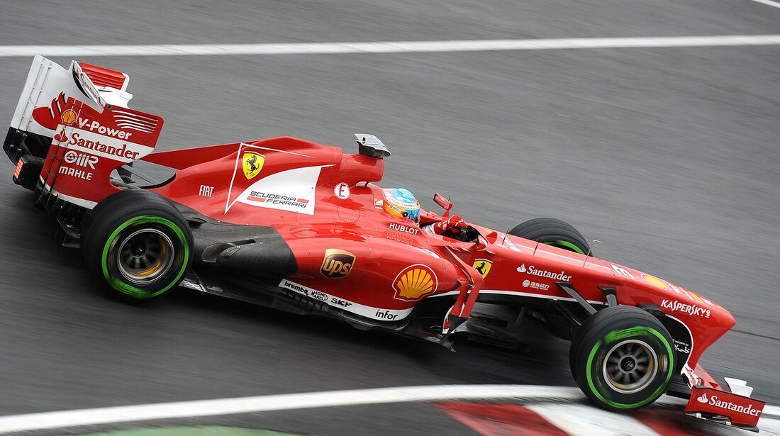 Fernando Alonso - Ferrari - Formel 1 - GP Kanada - 8. Juni 2013