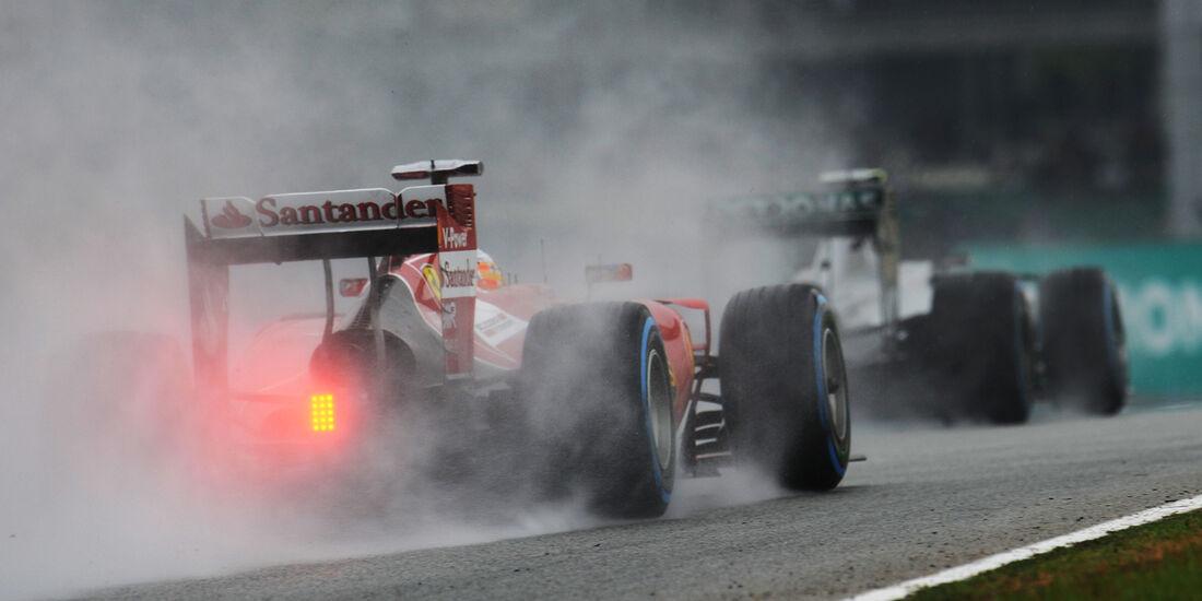 Fernando Alonso - Ferrari - Formel 1 - GP Malaysia - Sepang - 29. März 2014