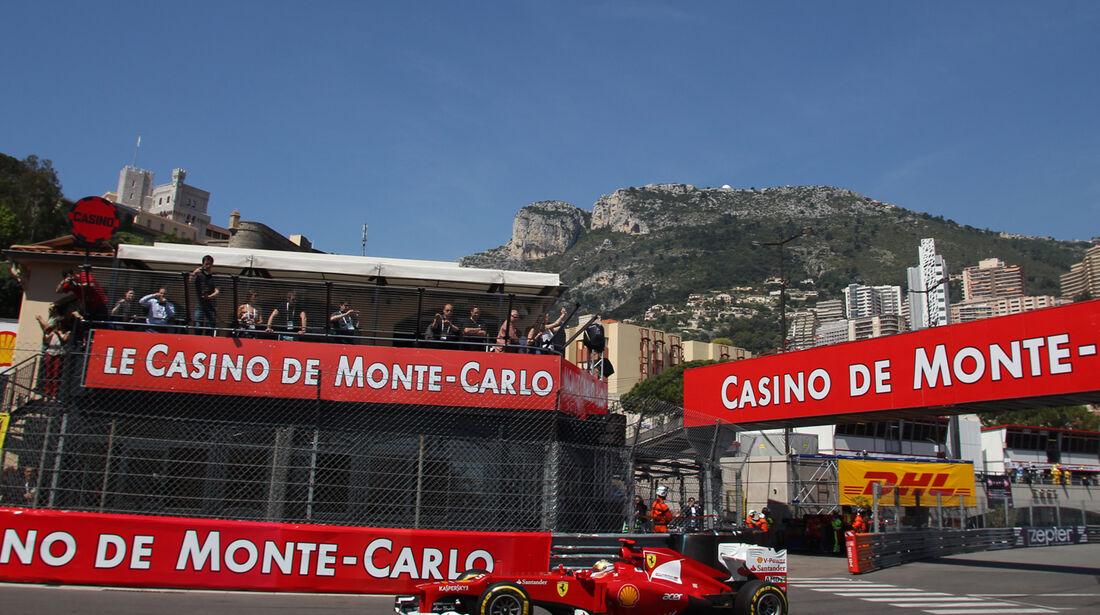 Fernando Alonso - Ferrari - Formel 1 - GP Monado - 24.Mai