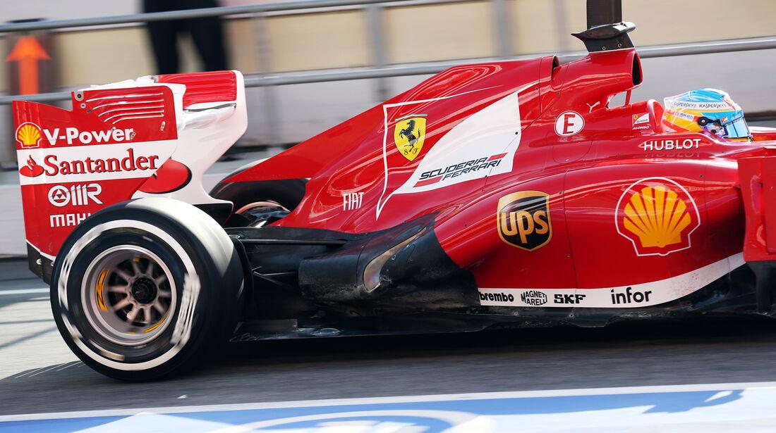 Fernando Alonso - Ferrari - Formel 1 - Test - Barcelona - 3. März 2013