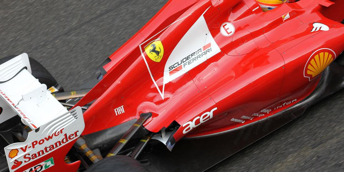 Fernando Alonso - Ferrari - Formel 1-Test - Mugello - 1. Mai 2012