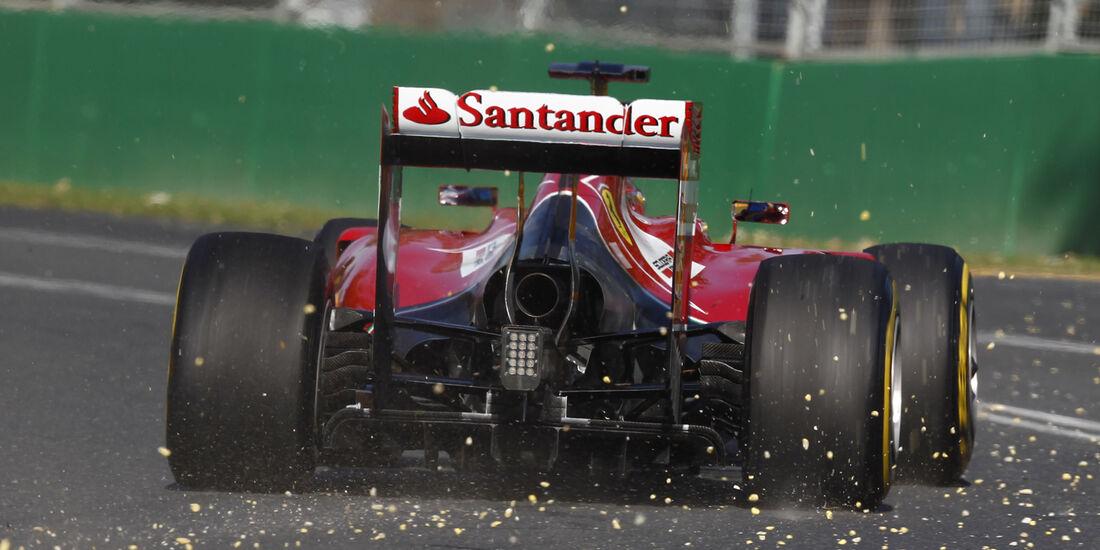 Fernando Alonso - Ferrari - GP Australien 2014