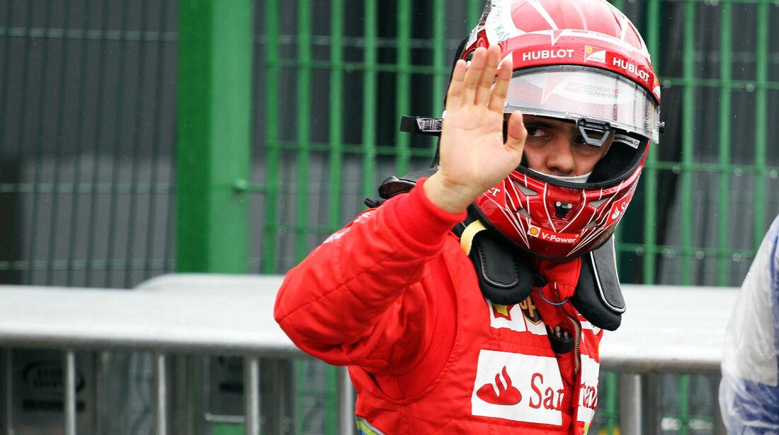 Fernando Alonso - Ferrari - GP Brasilien - 23. November 2013