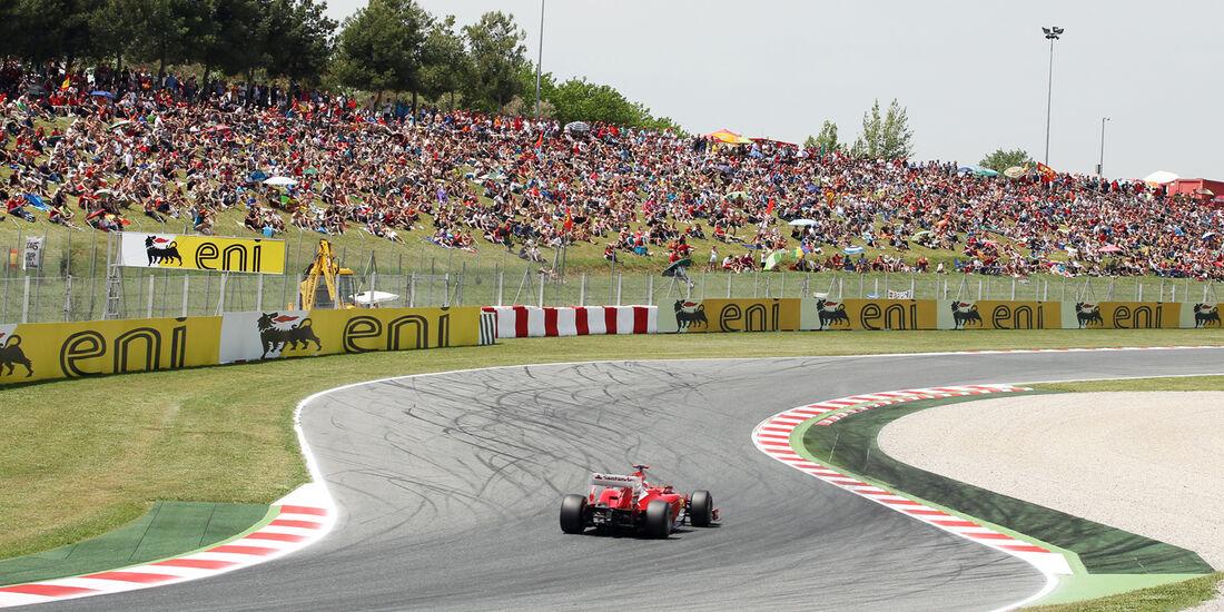 Fernando Alonso - Ferrari - GP Spanien - 12. Mai 2012