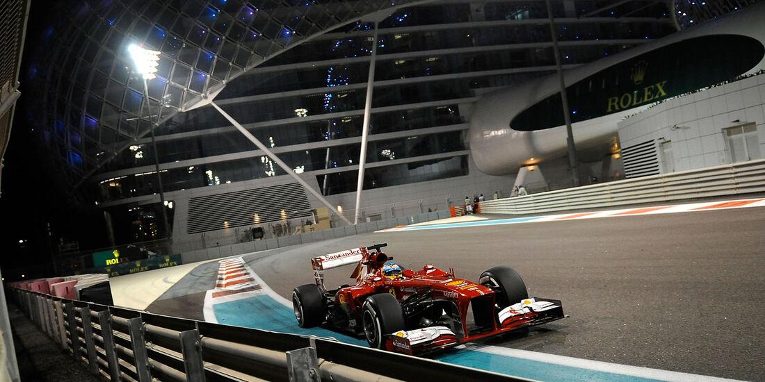 Fernando Alonso  - Formel 1 - GP Abu Dhabi - 01. November 2013