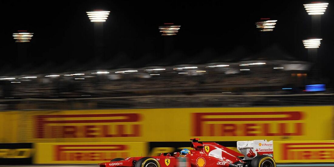 Fernando Alonso - Formel 1 - GP Abu Dhabi - 02. November 2012