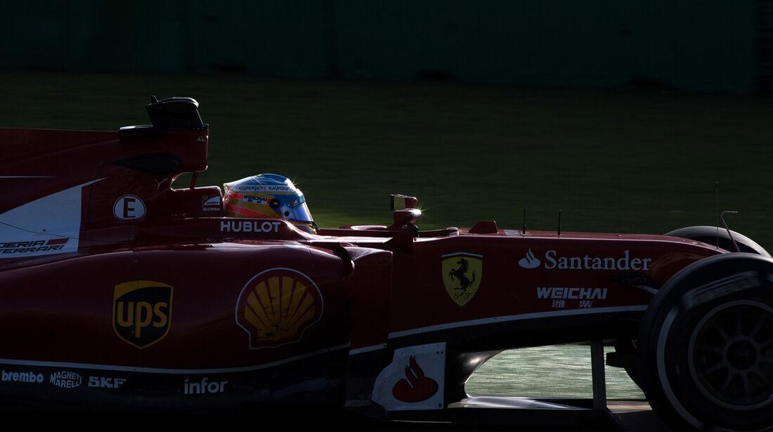 Fernando Alonso - Formel 1 - GP Australien 2014 - Danis Bilderkiste