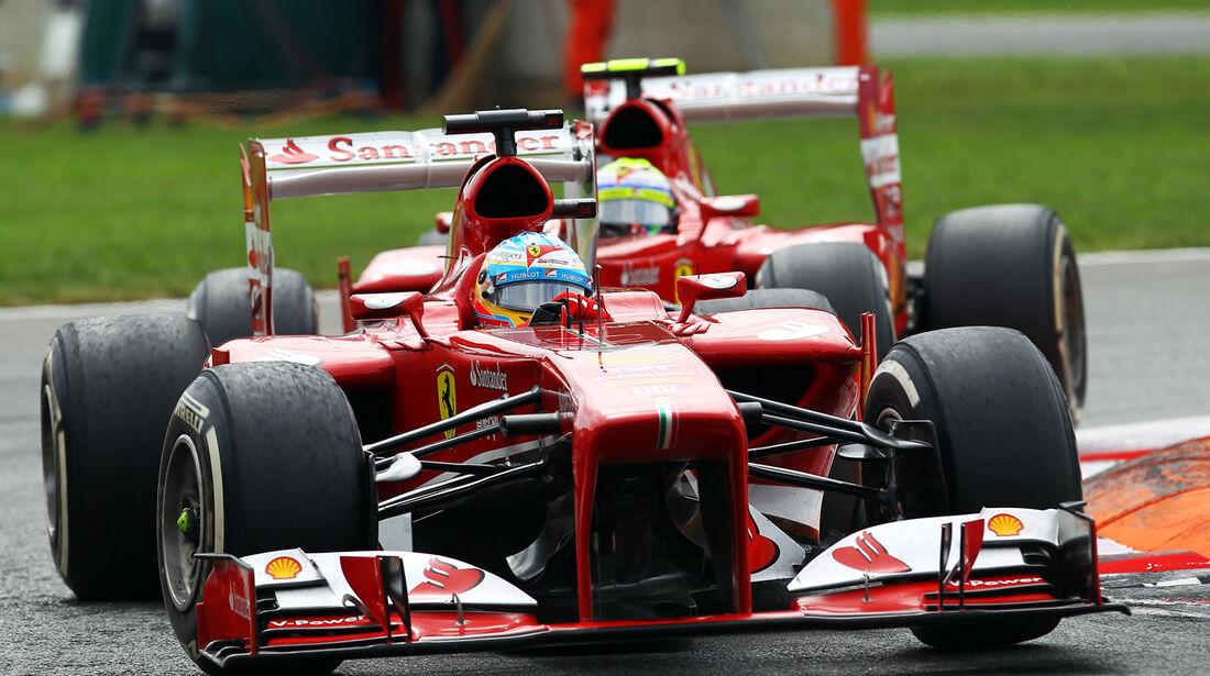 Fernando Alonso - Formel 1 - GP Italien 2013
