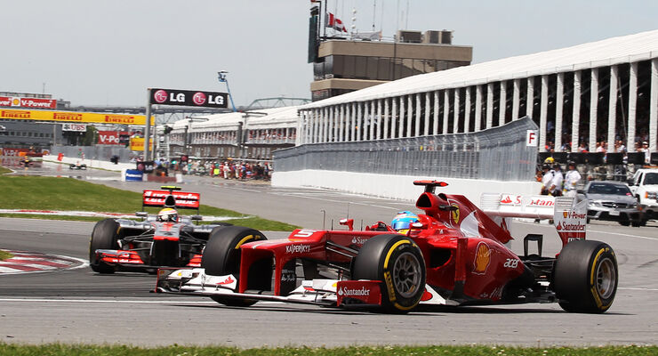 Fernando Alonso - Formel 1 - GP Kanada 2012