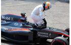 Fernando Alonso  - Formel 1 - GP Monaco - Sonntag - 24. Mai 2015