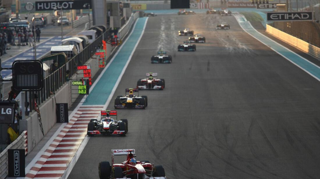 Fernando Alonso GP Abu Dhabi 2011