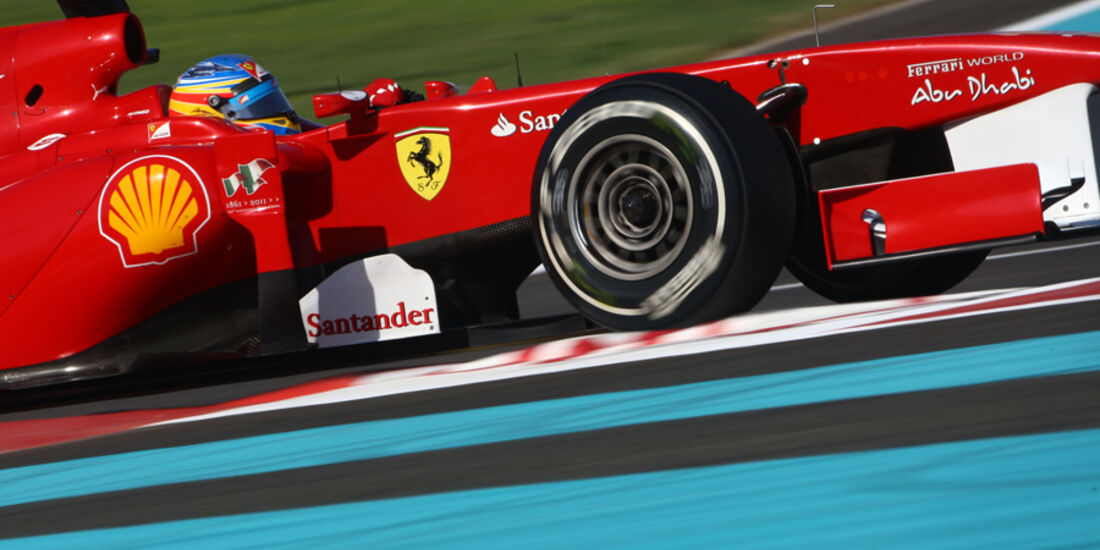 Fernando Alonso - GP Abu Dhabi - Qualifying - 12.11.2011