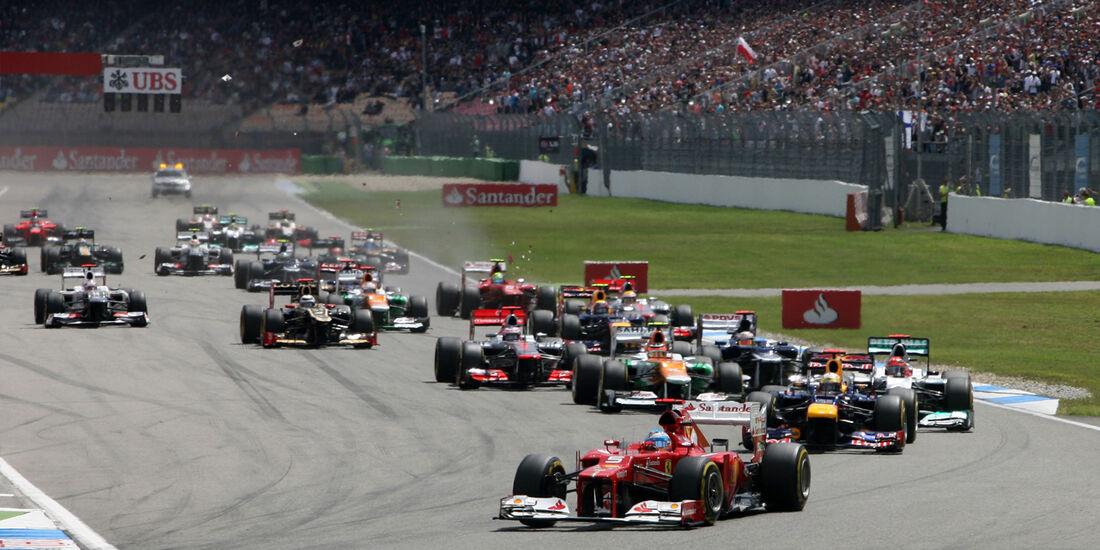 Fernando Alonso - GP Deutschland 2012