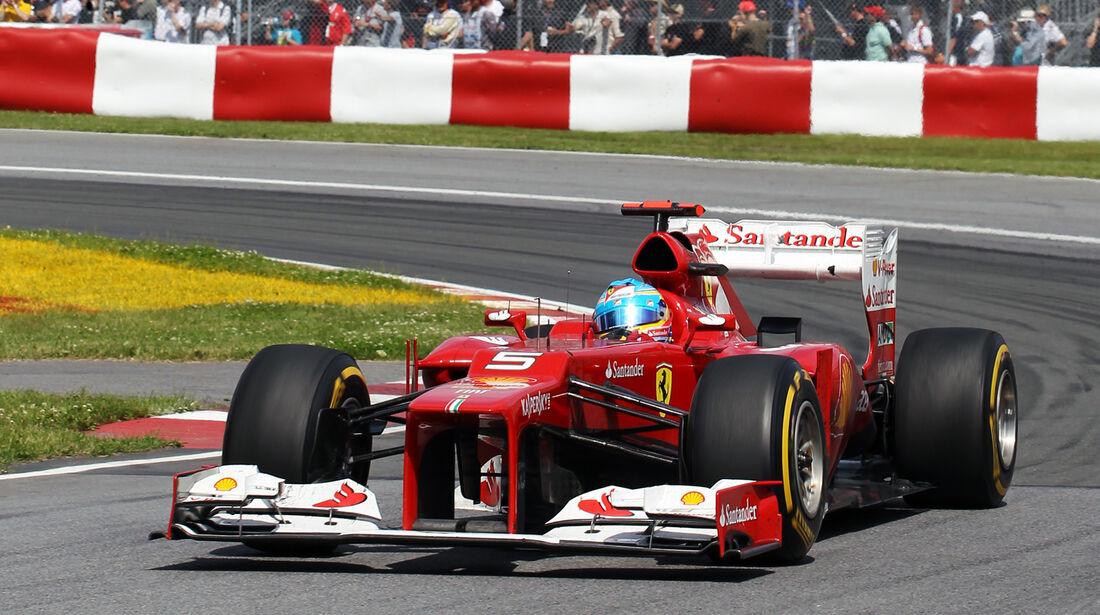 Fernando Alonso GP Kanada 2012