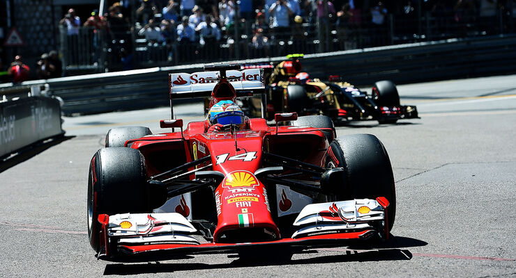 Fernando Alonso - GP Monaco 2014