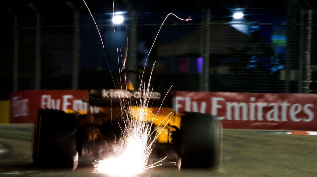 Fernando Alonso - GP Singapur 2018