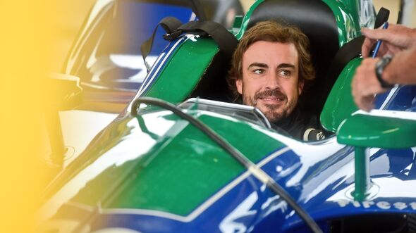Fernando Alonso - IndyCar-Test - 2018