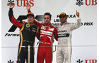 Fernando Alonso - Kimi Räikkönen - Lewis Hamilton - Formel 1 - GP China - 14. April 2013