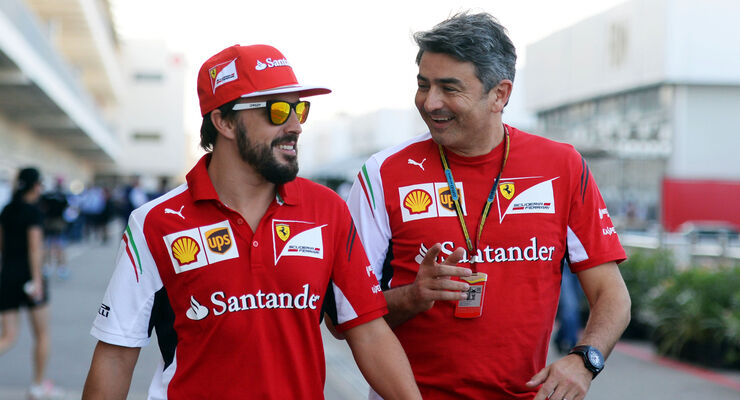 Fernando Alonso & Marco Mattiacci - 2014
