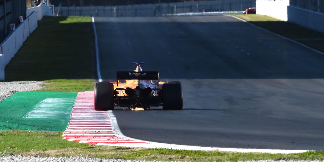 Fernando Alonso - McLaren - F1-Test - Barcelona - Tag 5 - 6. März 2018