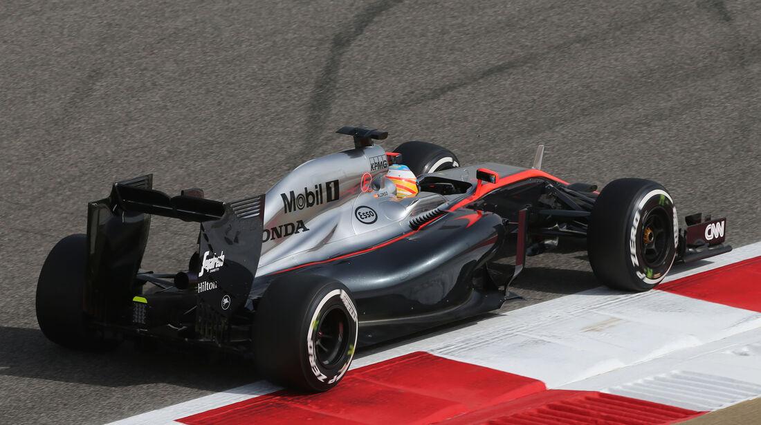 Fernando Alonso - McLaren - Formel 1 - GP Bahrain - 17. April 2015