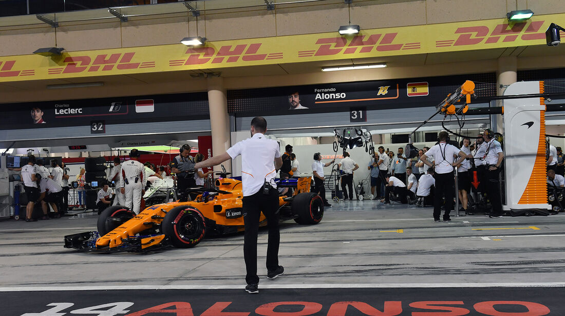 Fernando Alonso - McLaren - Formel 1 - GP Bahrain - 7. April 2018