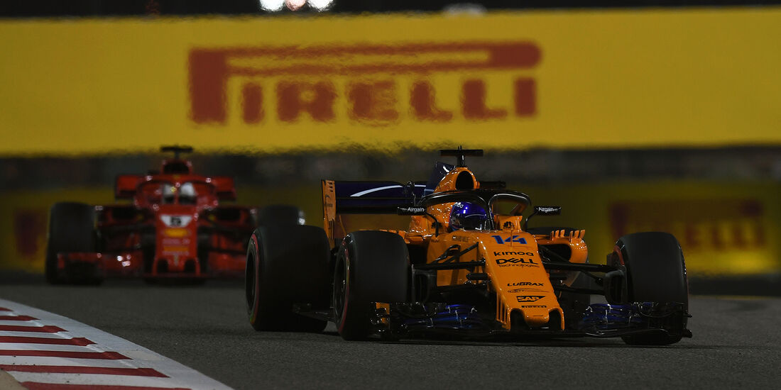Fernando Alonso - McLaren - Formel 1 - GP Bahrain - Training - 6. April 2018