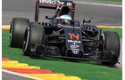 Fernando Alonso - McLaren - Formel 1 - GP Belgien - Spa-Francorchamps - 26. August 2016