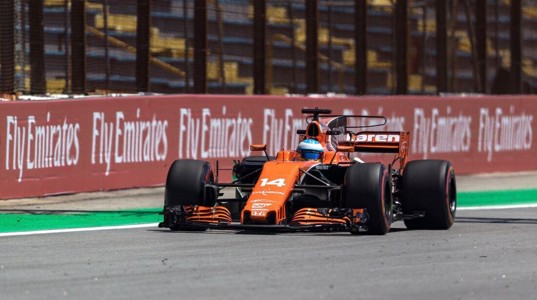 Fernando Alonso - McLaren - Formel 1 - GP Brasilien - 10. November 2017