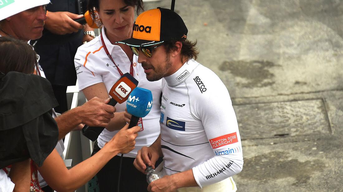 Fernando Alonso - McLaren - Formel 1 - GP Frankreich - Circuit Paul Ricard - Le Castellet - 23. Juni 2018