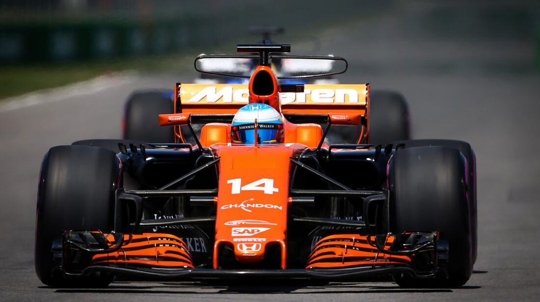 Fernando Alonso - McLaren - Formel 1 - GP Kanada - Montreal - 10. Juni 2017