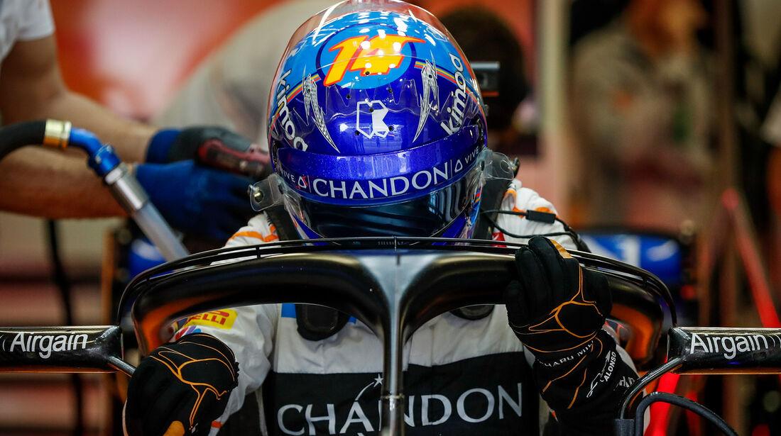 Fernando Alonso - McLaren - Formel 1 - GP Mexiko - 27. Oktober 2018