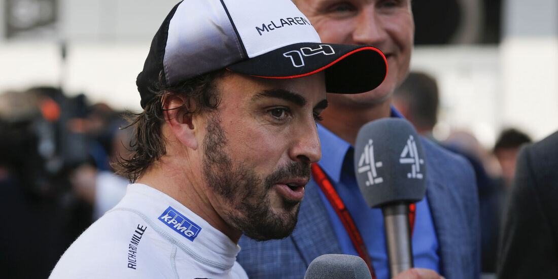 Fernando Alonso - McLaren - Formel 1 - GP Russland - 1. Mai 2016