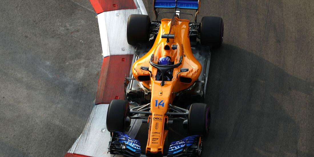 Fernando Alonso - McLaren - Formel 1 - GP Singapur - 14. September 2018