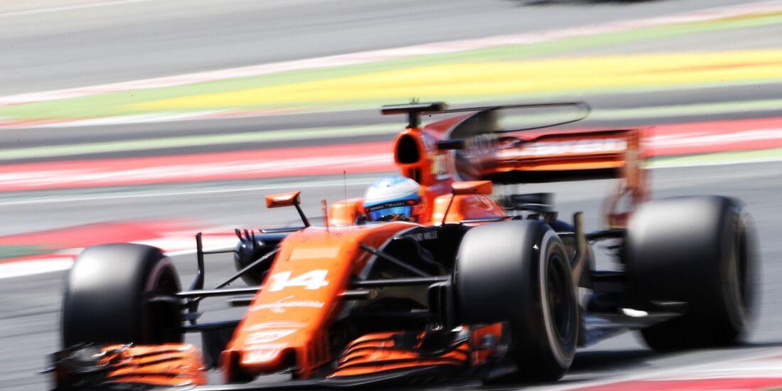 Fernando Alonso - McLaren - Formel 1 - GP Spanien - 14. Mai 2017