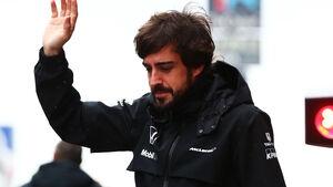 Fernando Alonso - McLaren - Formel 1-Test - Barcelona - 21. Februar 2015