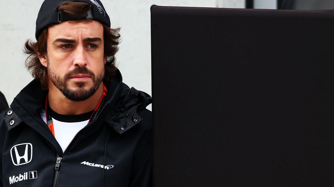Fernando Alonso - McLaren - Formel 1 - Test - Spielberg - 23. Juni 2015