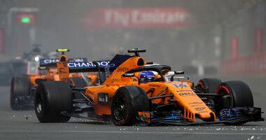 Fernando Alonso - McLaren - GP Aserbaidschan 2018 - Baku
